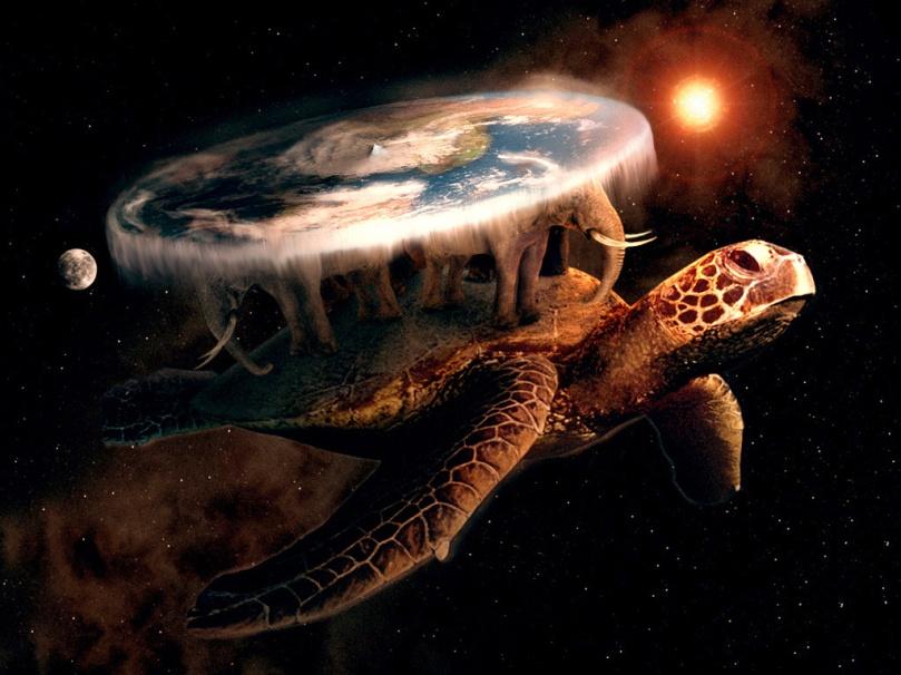 Çokluevrenin derinliklerinde dev bir kaplumbağa vardır: Büyük A'Tuin!