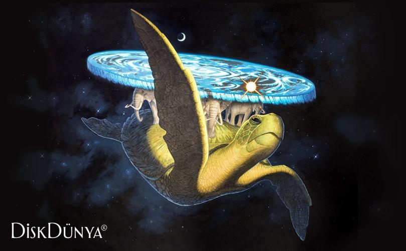 Uzay kaplumbağası, Büyük A'Tuin