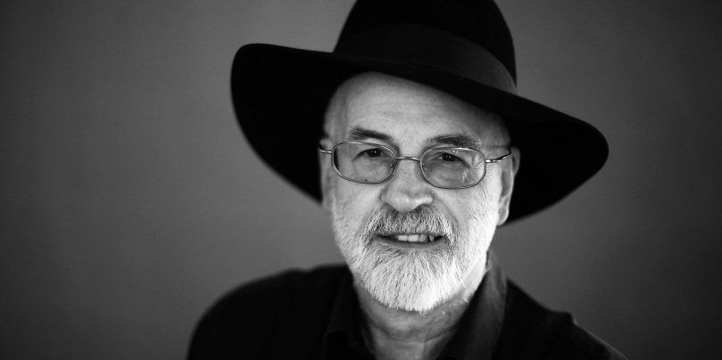 Büyük üstat, Sör Terry Pratchett..